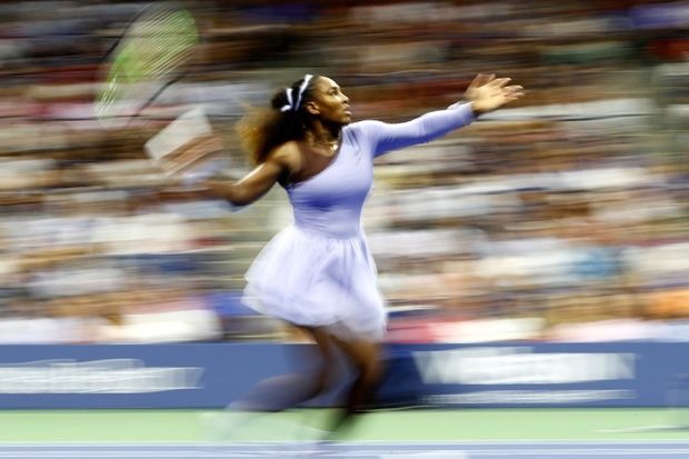 Tenis, AS Terbuka 2018, Serena Williams
